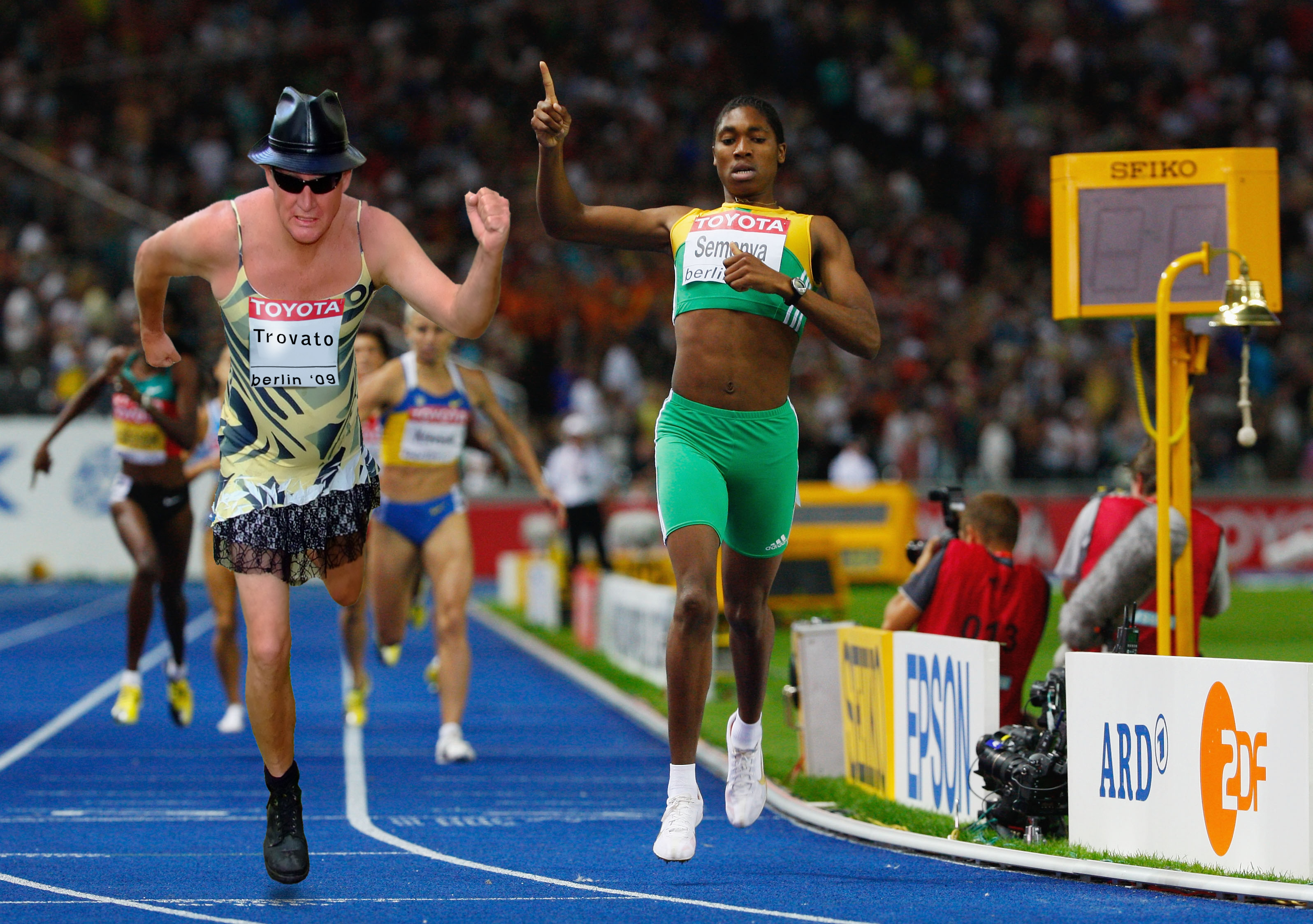 12th IAAF World Athletics Championships - Day Five